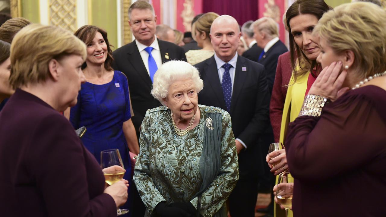 Stone had the opportunity to meet the Queen and members of the royal family this week. Picture: Getty