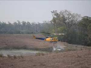 Water choppers refill in local dam