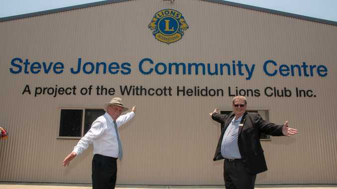 New community centre, men's shed honours former mayor's legacy