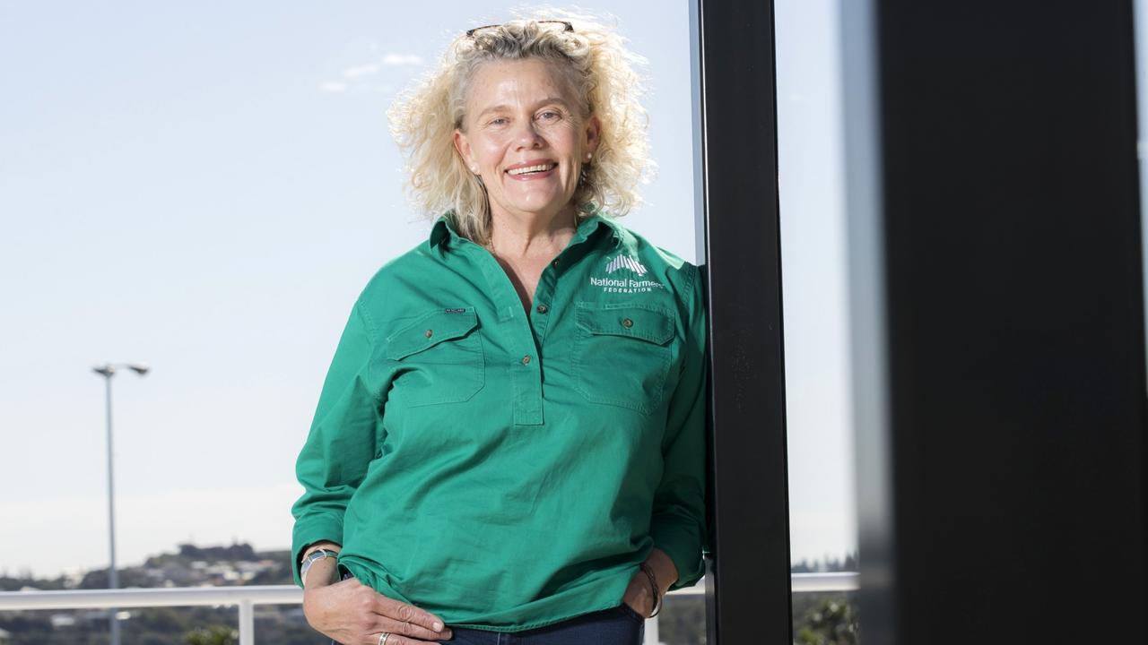 Fiona Simson, president of National Farmers Federation.