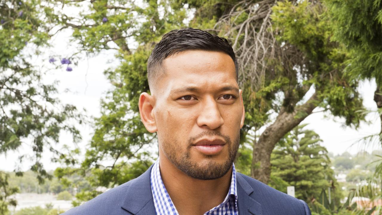Former Australian rugby star Israel Folau is now a free agent.