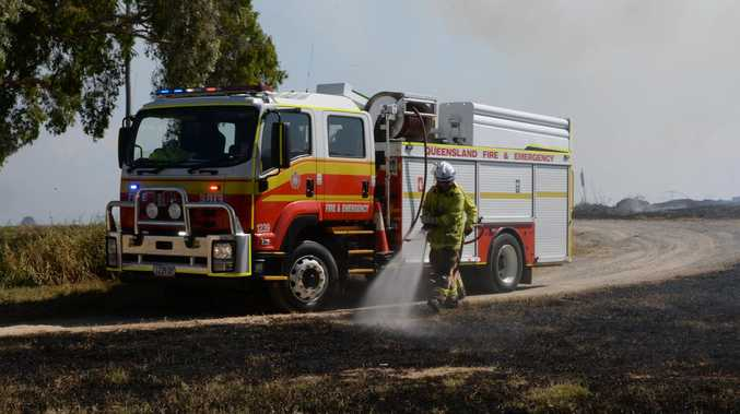 Firefighters monitor two South Burnett blazes
