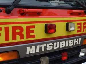 Trashy act sparks school fire fear