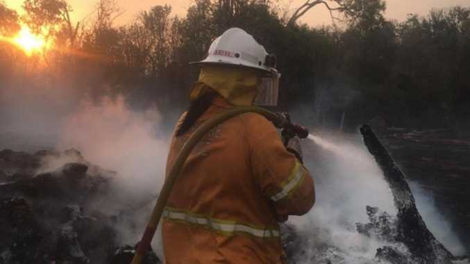 FIRE WARNING: Crews monitor South Burnett bushfires