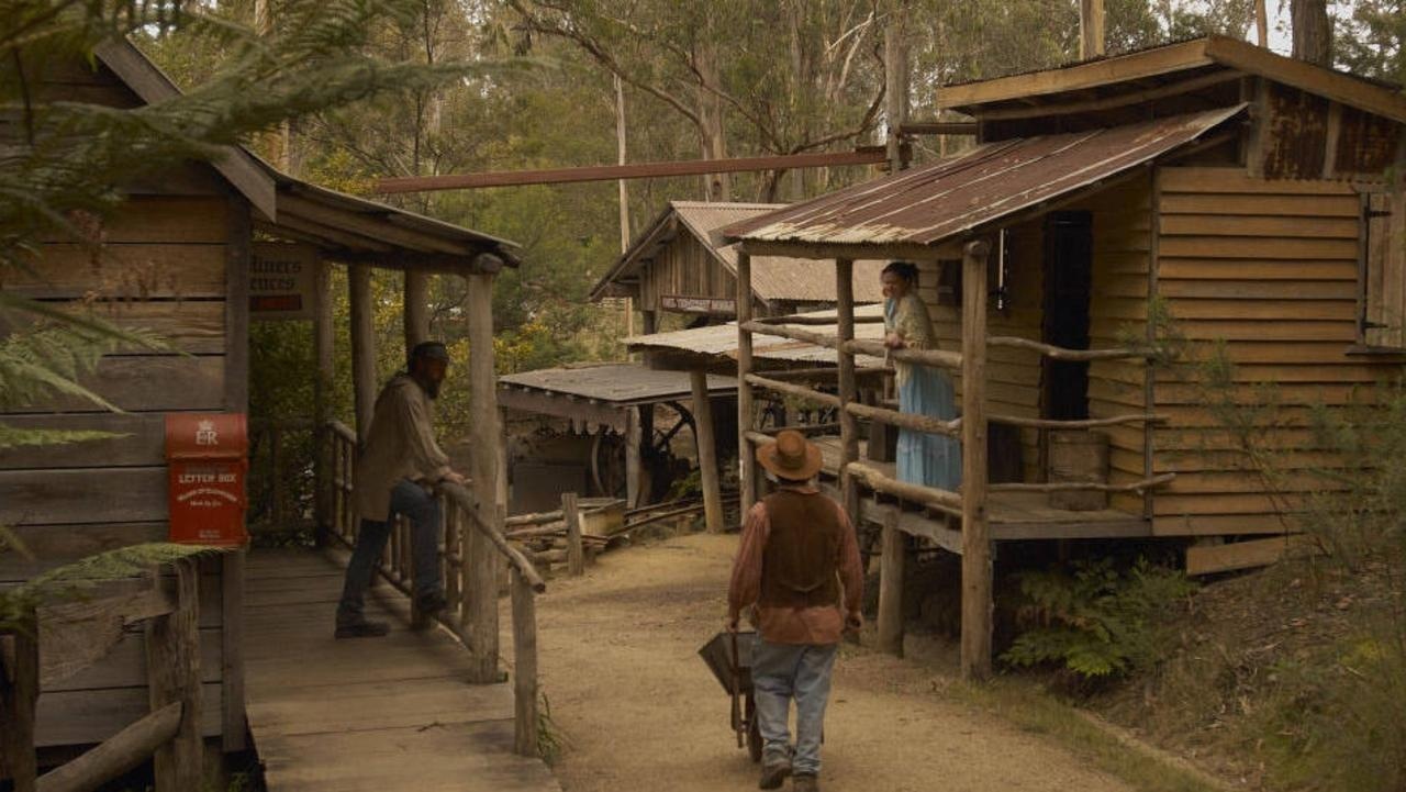 A gold rush town for sale comes with mining equipment, historic buildings like a blacksmith is for grabs and a mine shaft running underneath.