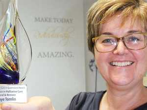 Rocky nurse takes home state award for palliative care