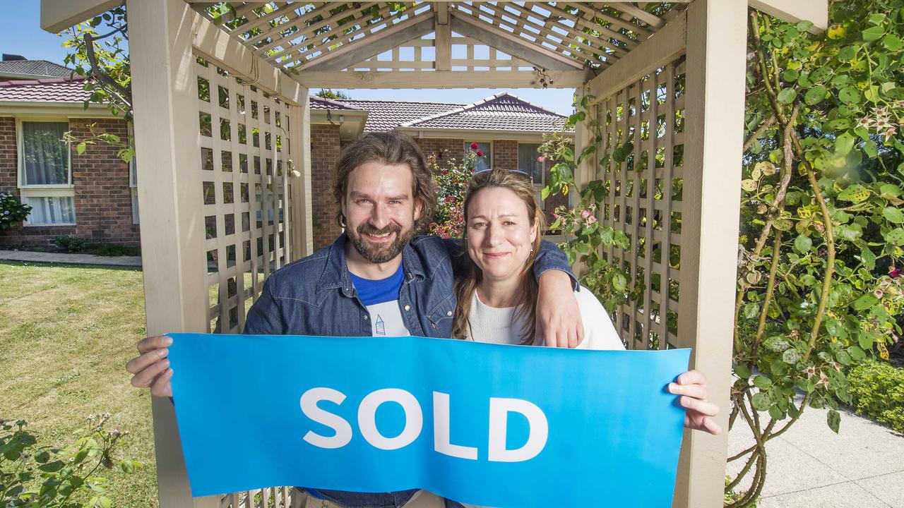 New owners Miles Shackley and Hayley Jones. Picture:Rob Leeson.