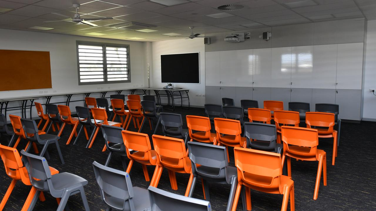 A typical multipurpose classroom.
