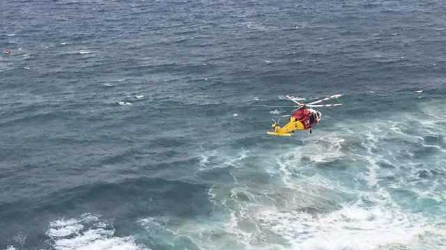 Hazardous seas makes for difficult rescue of surfers