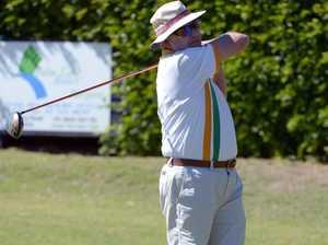 BUNGARA SHIELD: Brian Druitt competing in the Bungara
