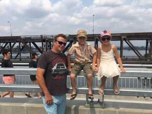 Grafton walks new bridge