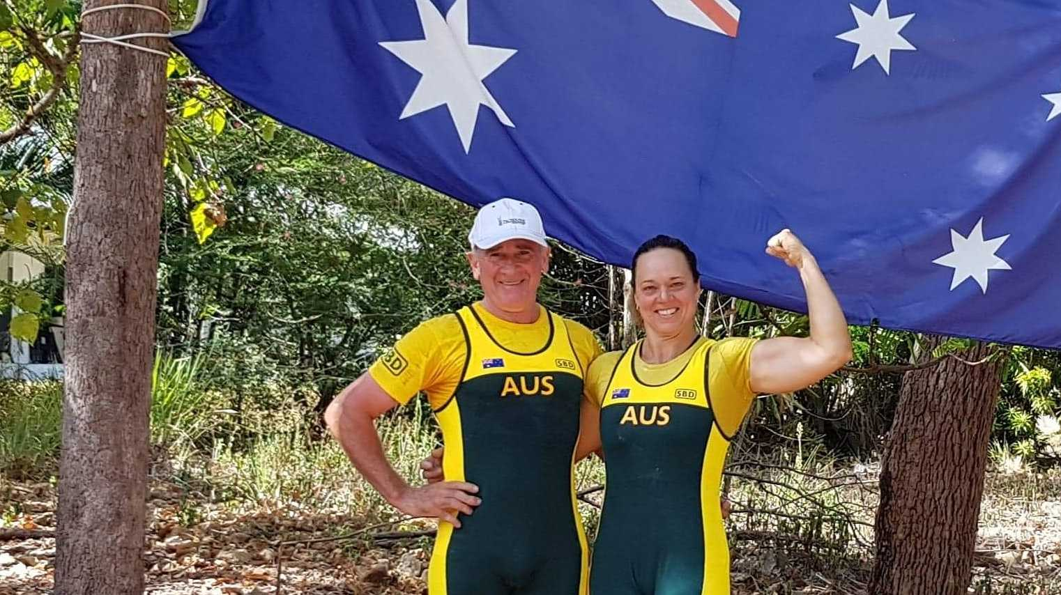 Rod Wecker and Leanne Knox will compete in the Asia Pacific Championships this weekend.
