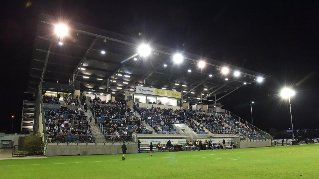Sunshine Coast Stadium.