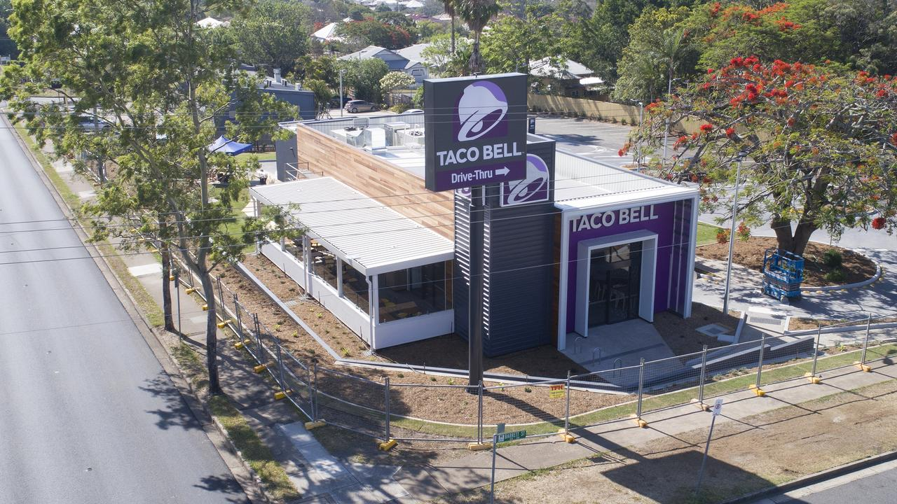 The new Taco Bell store at East Ipswich.