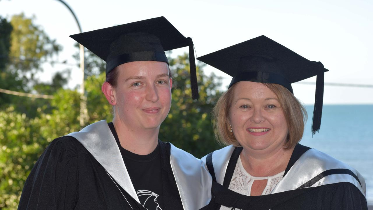 Nursing Science graduate Janine Gillingham with Lecturer in Nursing Science Sam Walsh.