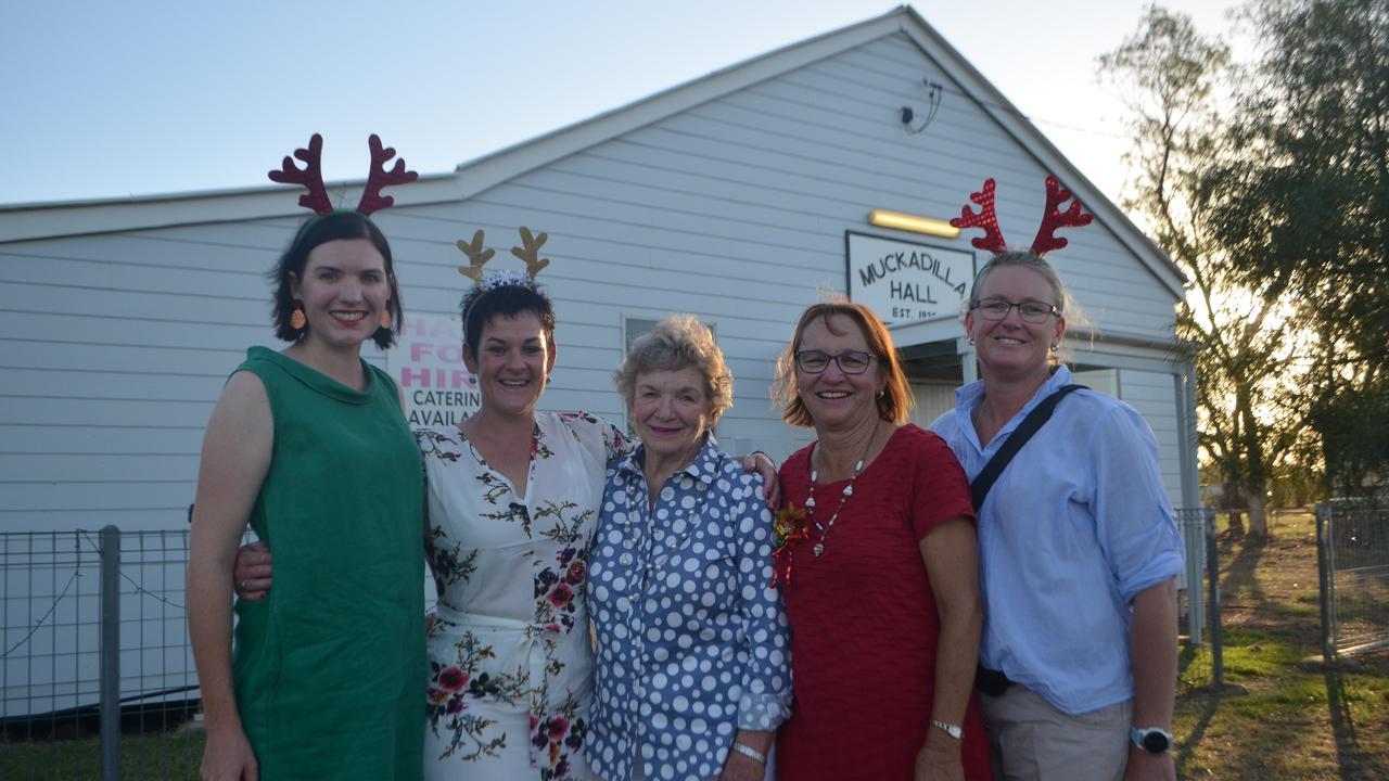 Muckadilla Community Association committee: Shannon Crocker, April Loughnan, Glenda Hacker, Donna Sutton and Susan Jackson.
