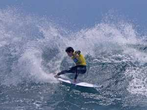 Rino leads the way at surf titles