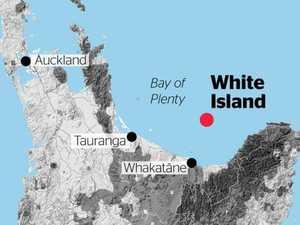 Volcano erupting off NZ coast