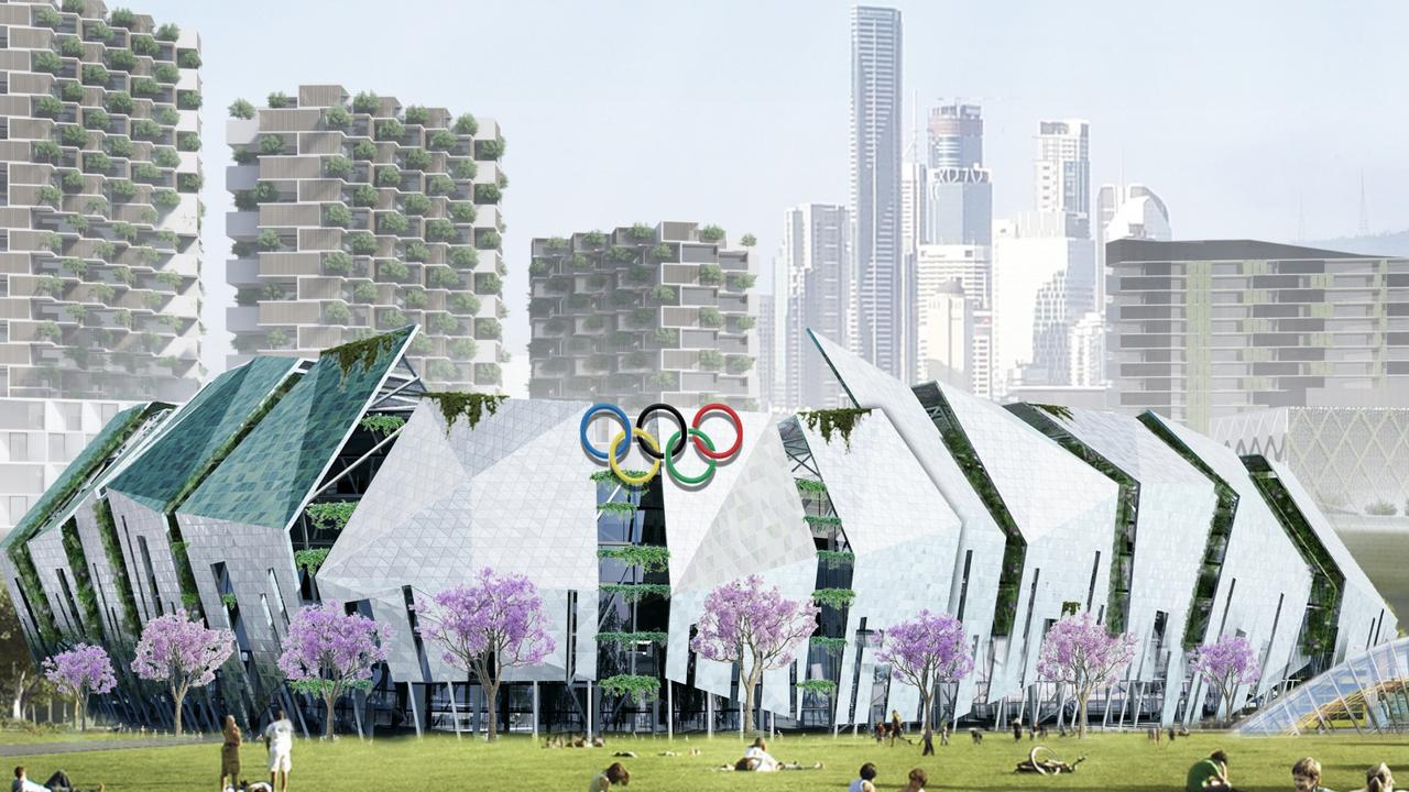 What an Olympic Stadium in Brisbane could look like.
