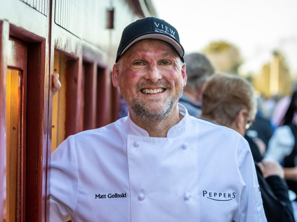 Matt Golinski will be part of the Ginger Flower & Food Festival