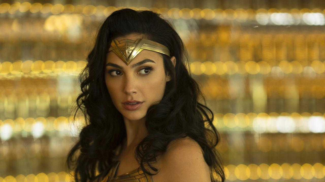 Gal Gadot in a scene from Wonder Woman 1984.