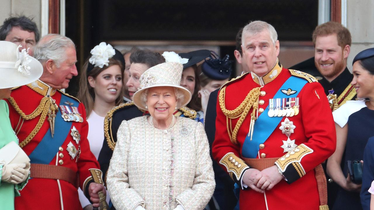 The Queen has given her under-fire son, Prince Andrew, a Christmas reprieve. Picture: Getty Images