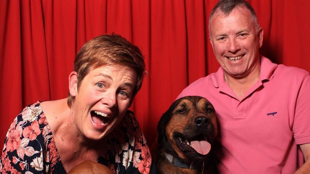 DOG DREAMS: Shauna and Ken Kelly think of their dogs as part of the family.