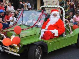 PHOTOS: Kids tell Santa their secrets at Casino street party
