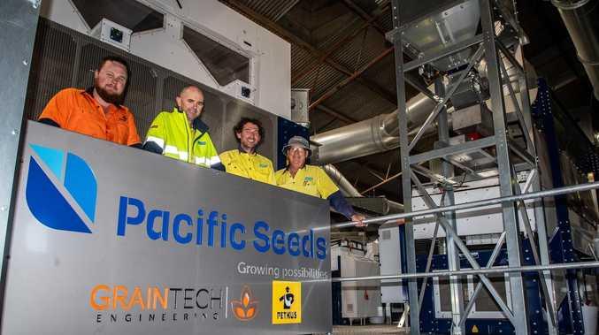 Seed company opens cutting-edge $2.4m Toowoomba facility