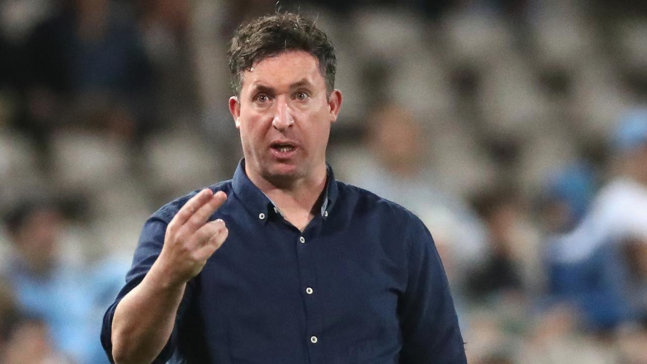 Roar coach Robbie Fowler has warned his players that there must be a 'reaction' from the player group after their limp loss to Sydney FC. Picture: AAP Image/Jeremy Ng