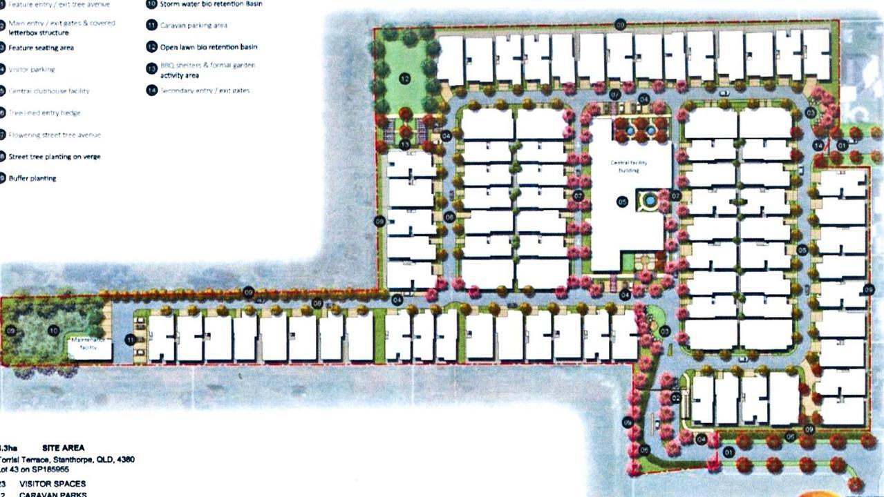 The proposed Arcadia lifestyle resort.
