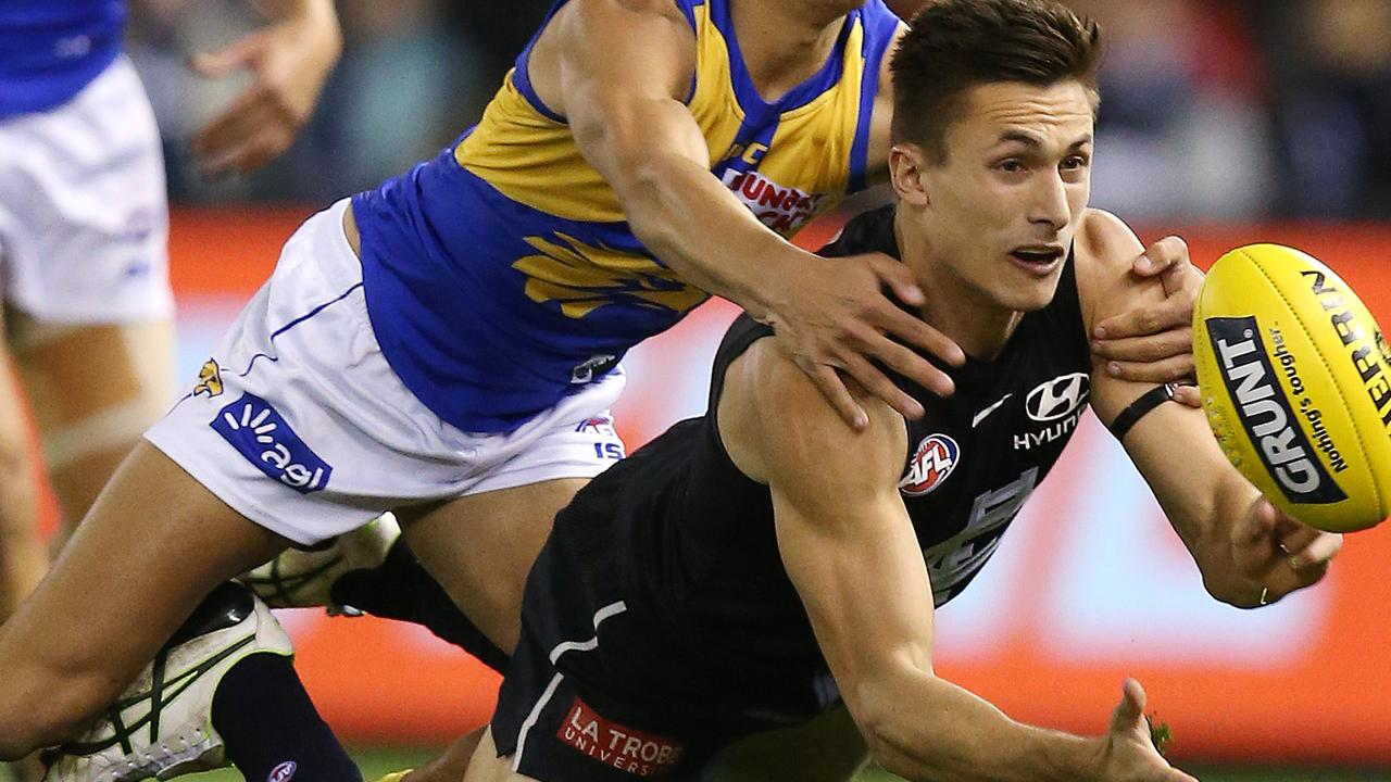 Josh Deluca has revealed his frustration at being delisted by Carlton after less than six months at the club. Picture: Michael Klein