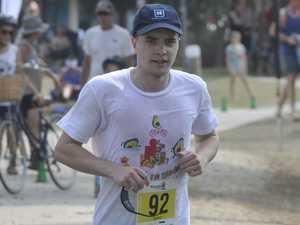 Yamba triathletes pay $10K tribute to fallen friend