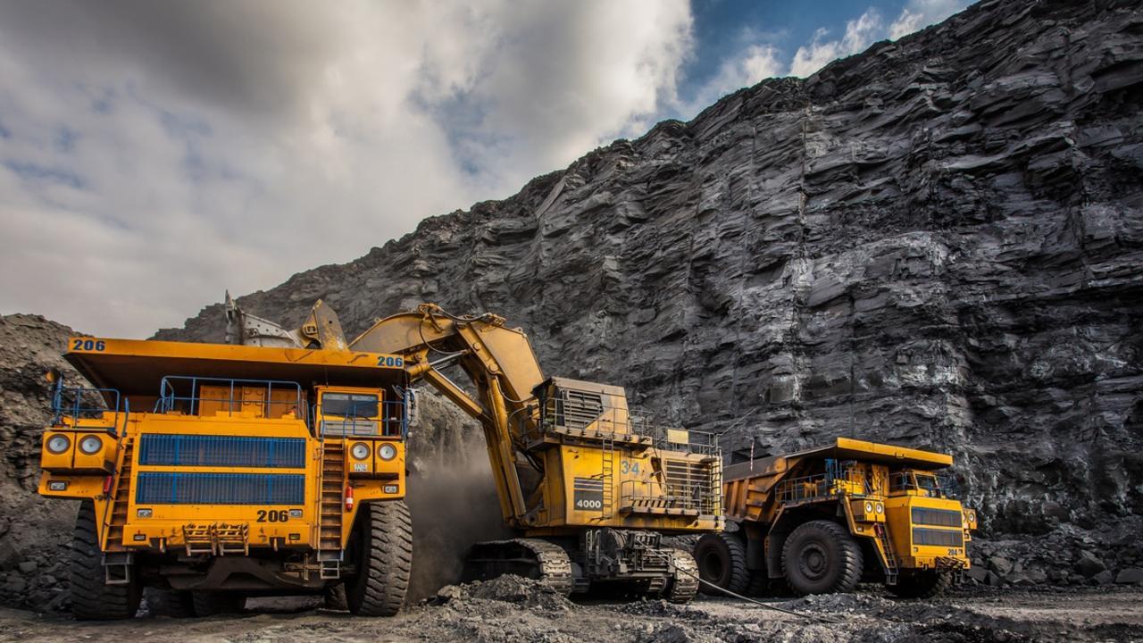 Coal mining Central Queensland