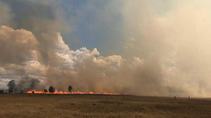 BREAKING: More than a dozen crews respond to bush fire