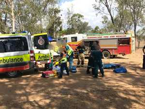 Five airlifted from South Burnett crashes at the weekend
