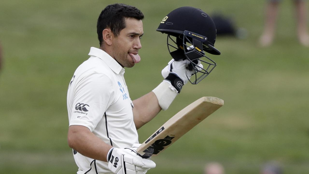 New Zealand's Ross Taylor has welcomed the pressure of a Test series in Australia.