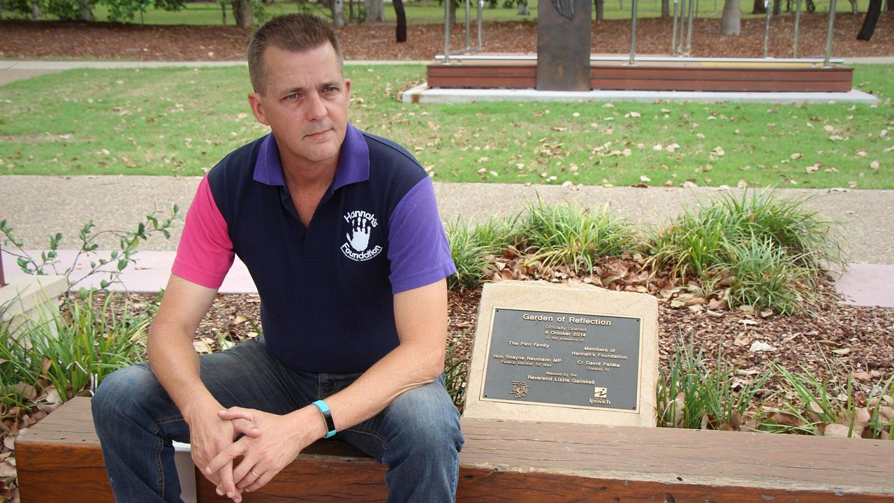 10 YEARS ON: Andrew Plint still grieves for his young daughter but is determined her death will not be in vain.