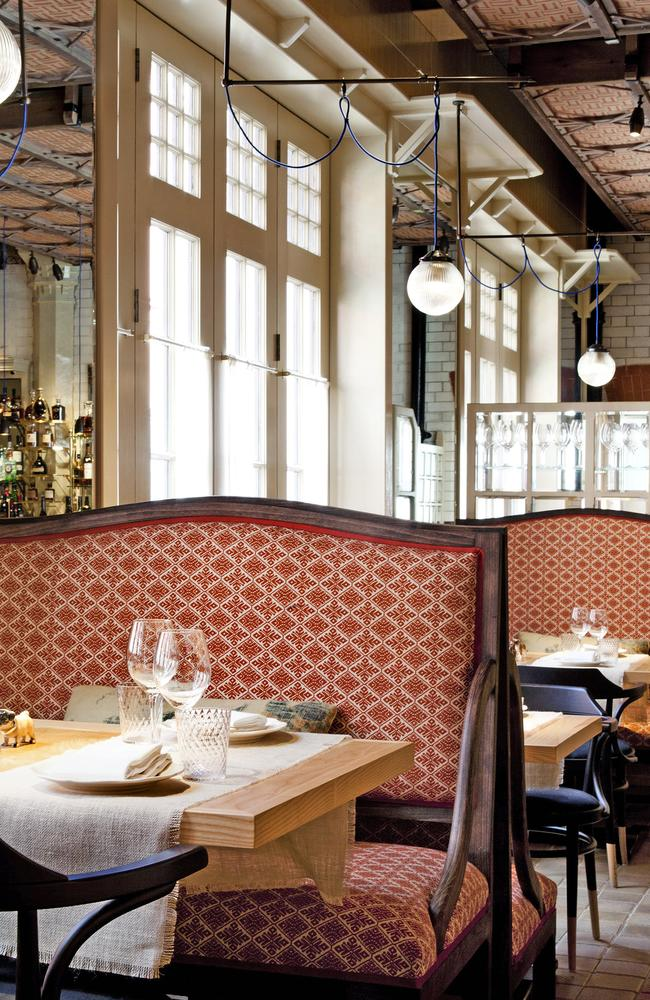 Inside Chiltern Firehouse, a popular venue among A-listers. Picture Supplied.