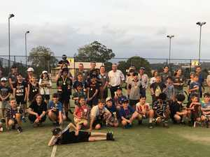 Tennis club's new courts revitalise passion for sport