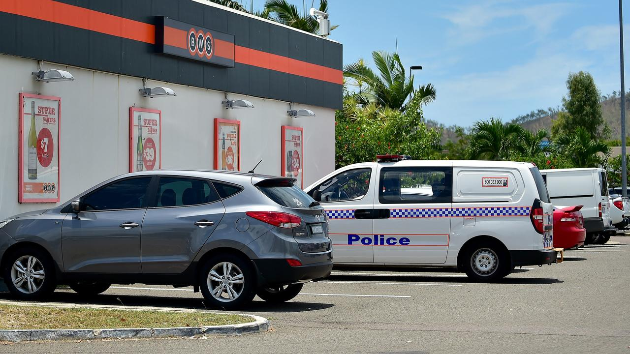 BWS in Kirwan has been held up by an armed man.