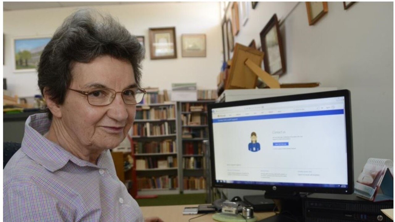 SCAM ALERT: Toowoomba's Gabrielle Saide wants to ensure other seniors don't have to go through what she has as a result of an internet scam.