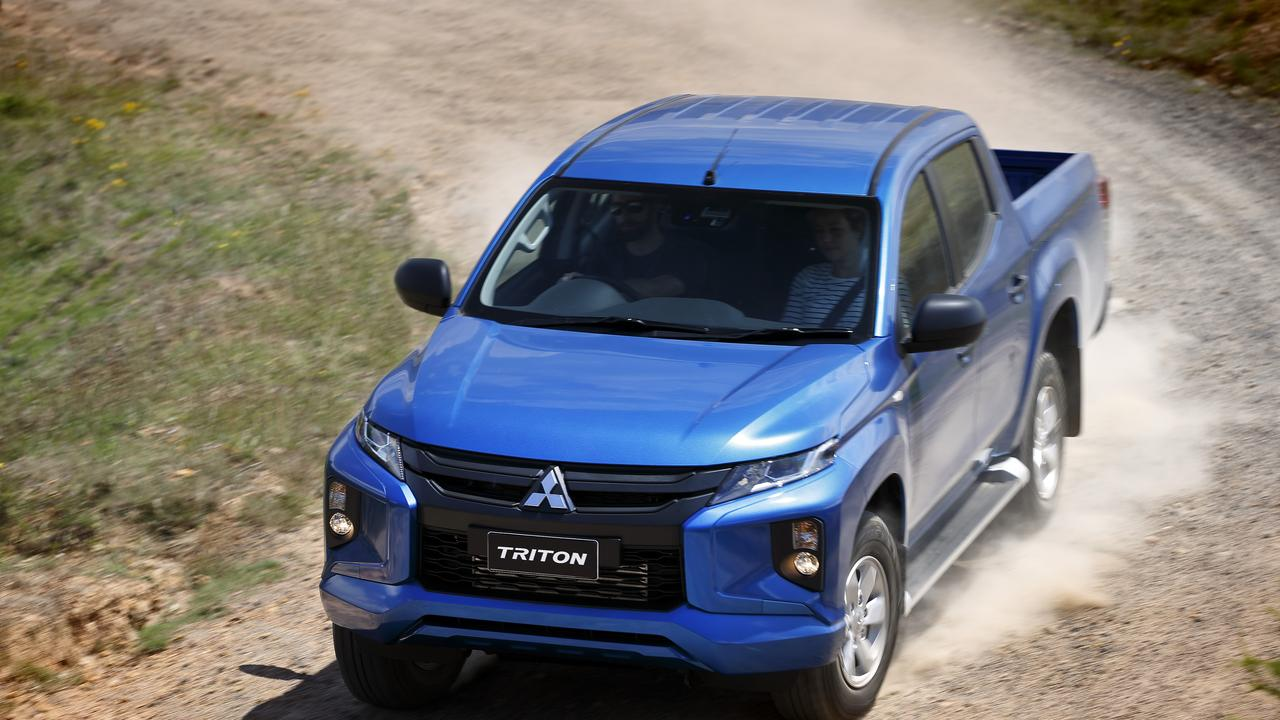 The Mitsubishi Triton GLX+.