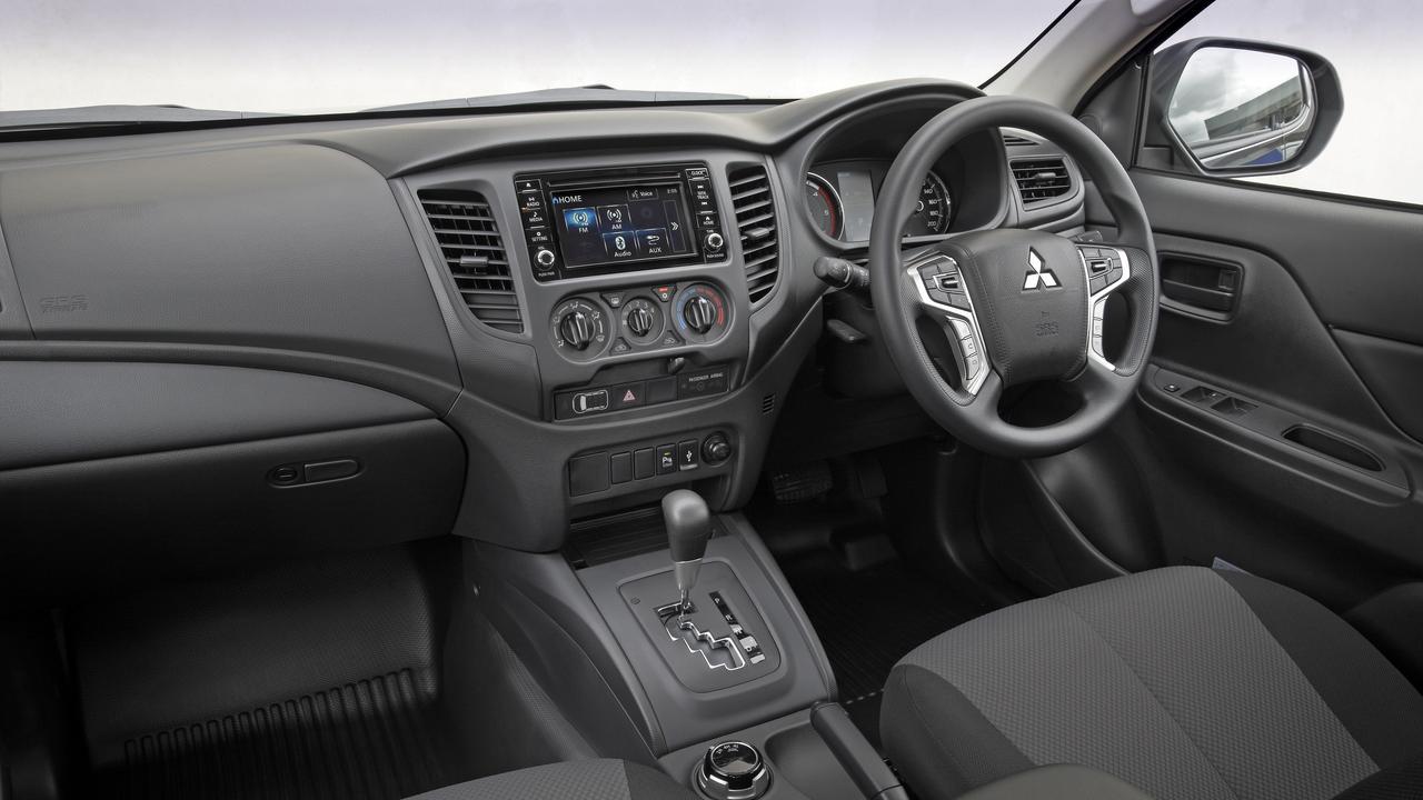 The Mitsubishi Triton GLX+.