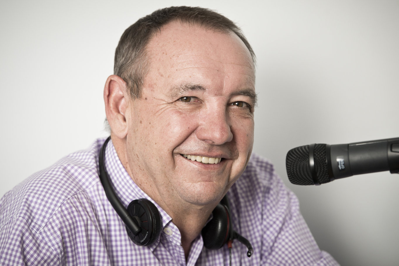Graham Healy is the new breakfast radio host at 4WK in 2020, Monday, December 9, 2019. Picture: Kevin Farmer
