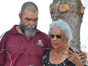 Elder Bob Muir with mum Nelly as they recount their