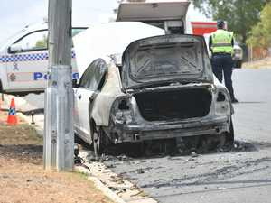 Police to investigate 'intentional' car fire
