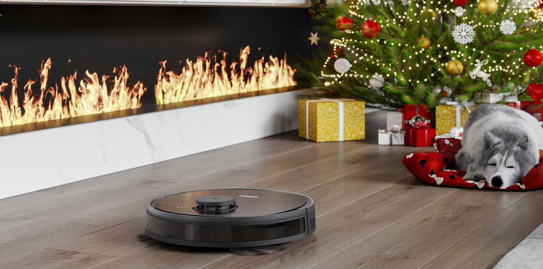 This robo-vac may not be on your Christmas list . . . but it should be.  Image: supplied