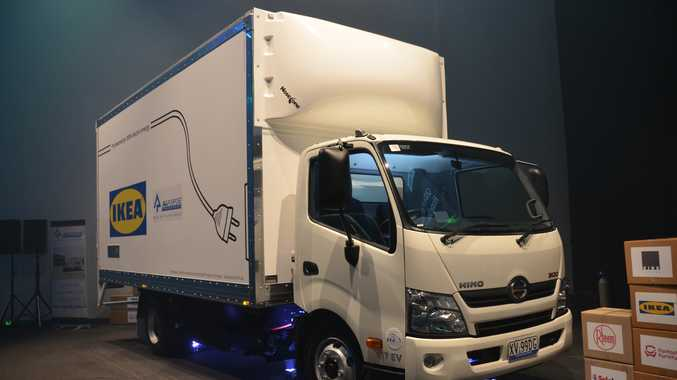This is Queensland's first 100 percent electric truck