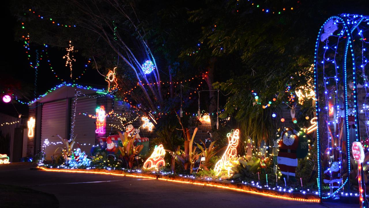 Homes right across the South Burnett are decked out in lights for the Christmas season.